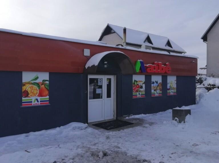 Nauja Aibė parduotuvė Lentvaryje!